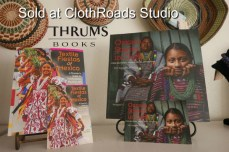 ClothRoads has the entire line of traditional textile books from our sister company Thrums Books on display.