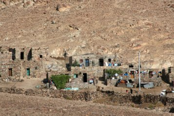 One of many settlements around the village of St. Catherine.