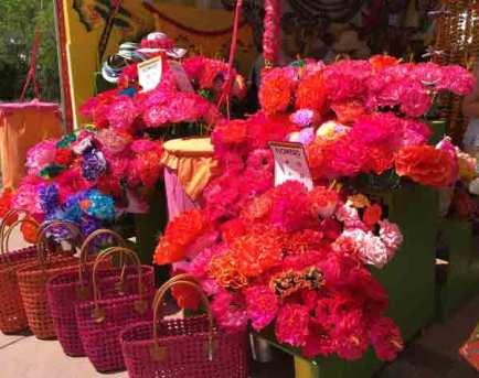 Market flowers. Photo credit Vivian Coles.
