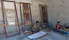 The laborious and complex ikat of Sumba.