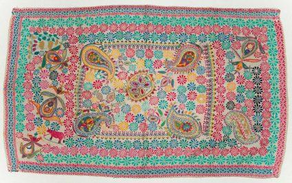 Contemporary kantha textile. Photo courtesy Patrick Finn.