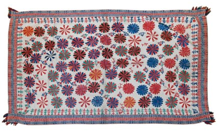 Contemporary kantha textile. Photo courtesy Patrick J Finn.