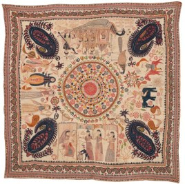 Contemporary kantha textile. Photo courtesy Patrick J Finn.