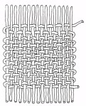 Plain weave structure reflects Andean cosmology.