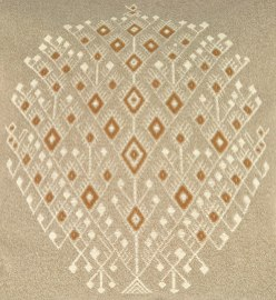 Tree of Life design woven by Catarina Catinac from Nahuala, Sololá