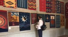 Textile gallery inspires enthusiasts.