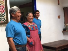 The Chavez family of Teotitlan del Valle shares the family weaving history.