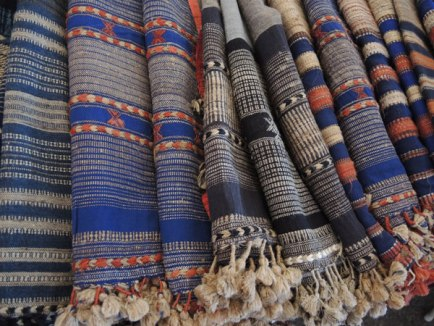 Dayalal's design sense and exquisite details are apparent in this array of shawls.