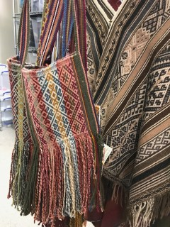Backstrap weaving from the Center for Traditional Textile of Cusco, Pru