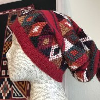 Handknitted hats from Peru