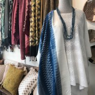 Accessories which include scarves, bags, and jewelry will be deeply discounted. This includes beautiful silk and cashmere scarves from India, Laos, Nepal.
