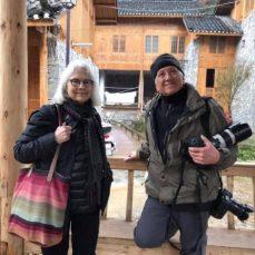 Linda Ligon and Joe Coca in China.