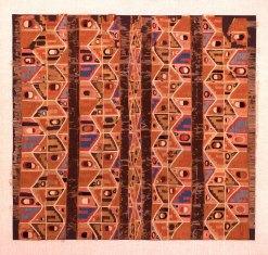 Image PC.B.498 Tunic; Wari, Middle Horizon AD 650-800; 111.5 x 104 (43.9 x 40.9); wool, cotton.