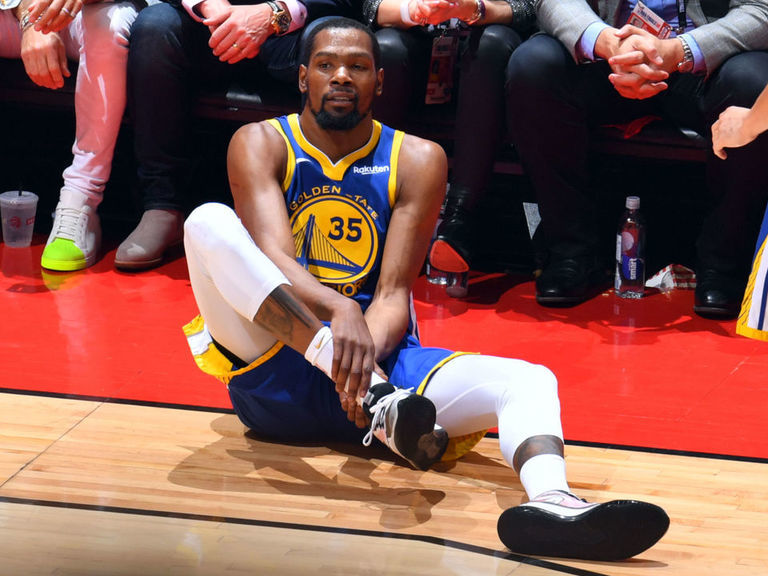 Report: Warriors believe KD suffered torn Achilles in Game 5   theScore.com