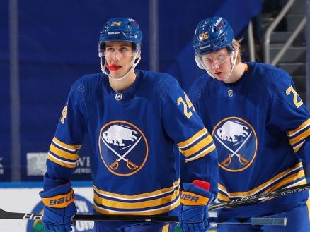 Kevyn Adams: Sabres will build around young core of Dahlin, Cozens, Mittelstadt   theScore.com