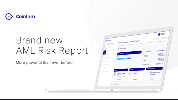 Introducing the brand-new Coinfirm AML Platform and Risk