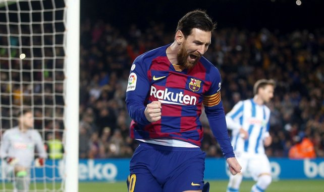 The record chasing Lionel Messi in FC Barcelona