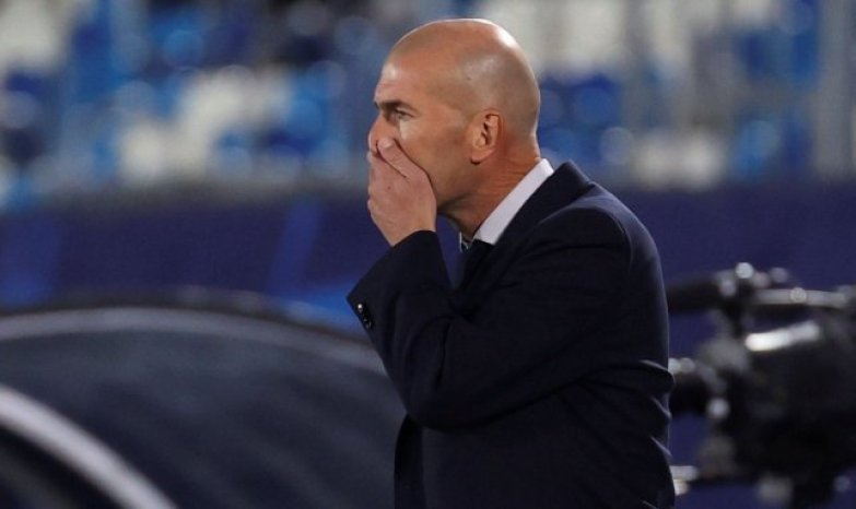 "Real Madrid, Zinedine Zidane: ""No es una vergüenza"""