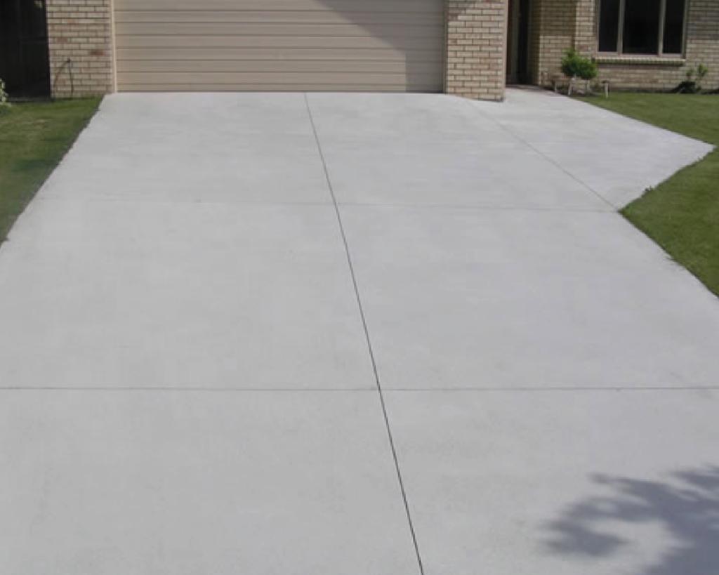 brushed finished concrete