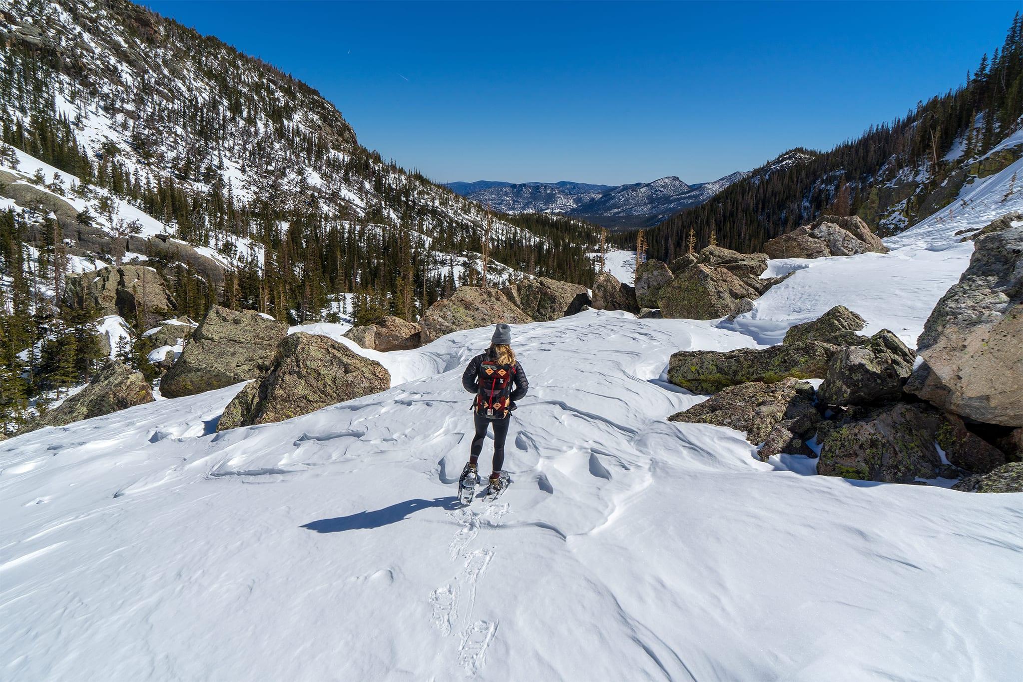 Snowshoe Adventure Rocky Mountain National Park