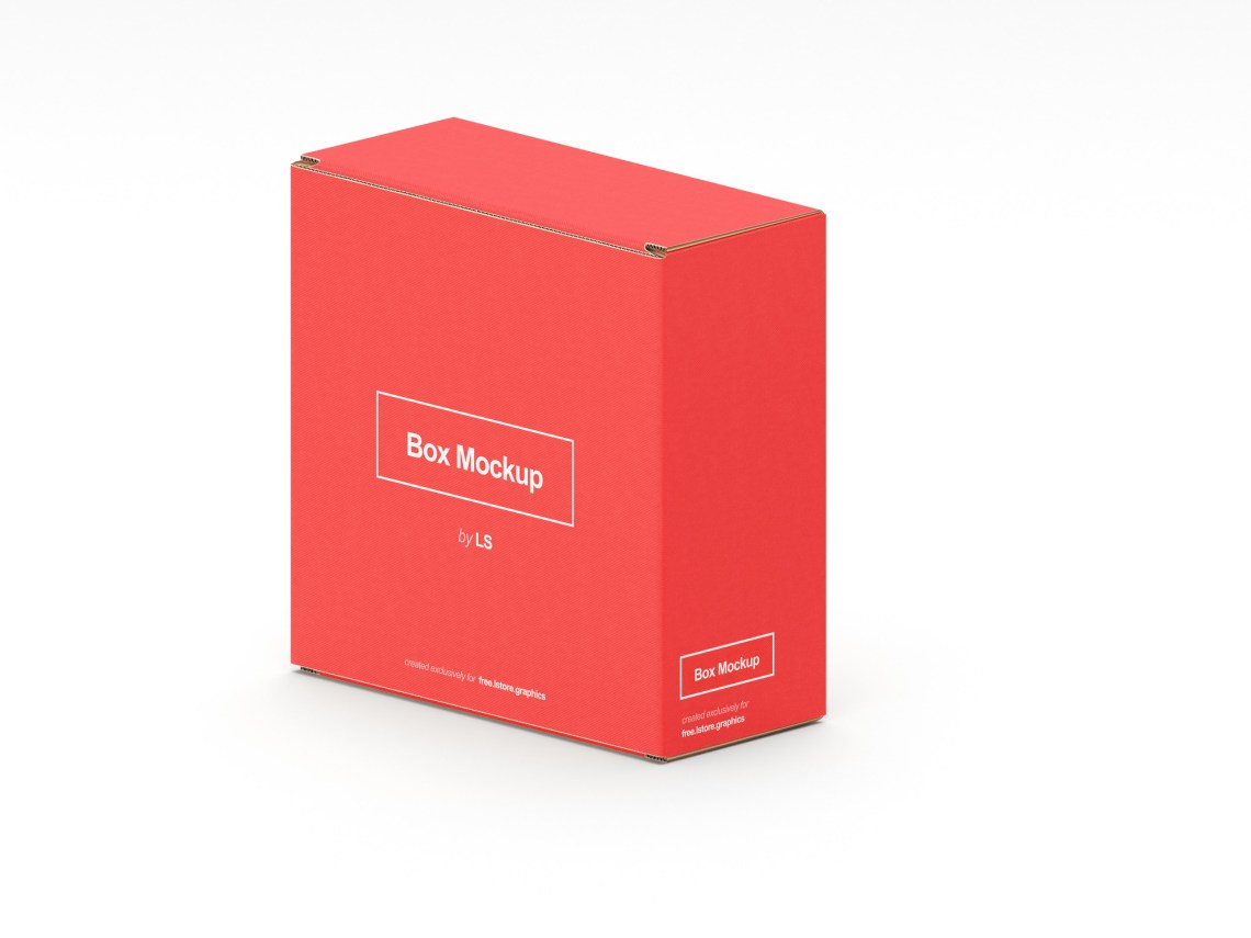 Download Free 7 Changeable Boxes Mockups | LS Graphics