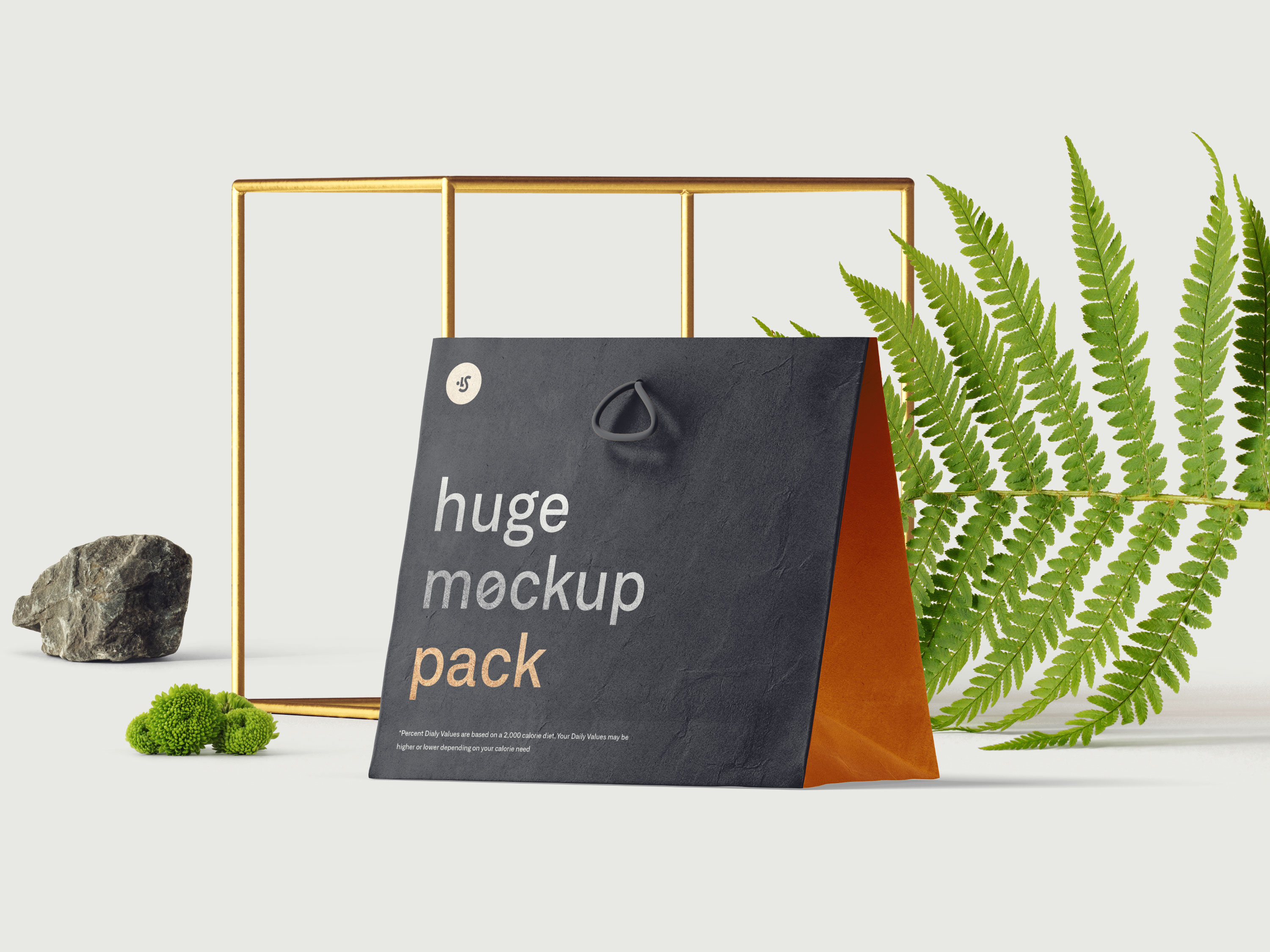 This kit is perfect for corporate identity presentation, package printing. Free Bag Mockup Scene Ls Graphics