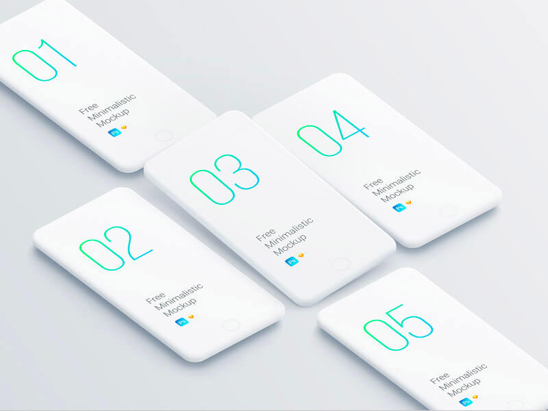 Use the psd file's smart layer to drag and drop your own display content. Free Iphone Mockups Psd Sketch Figma