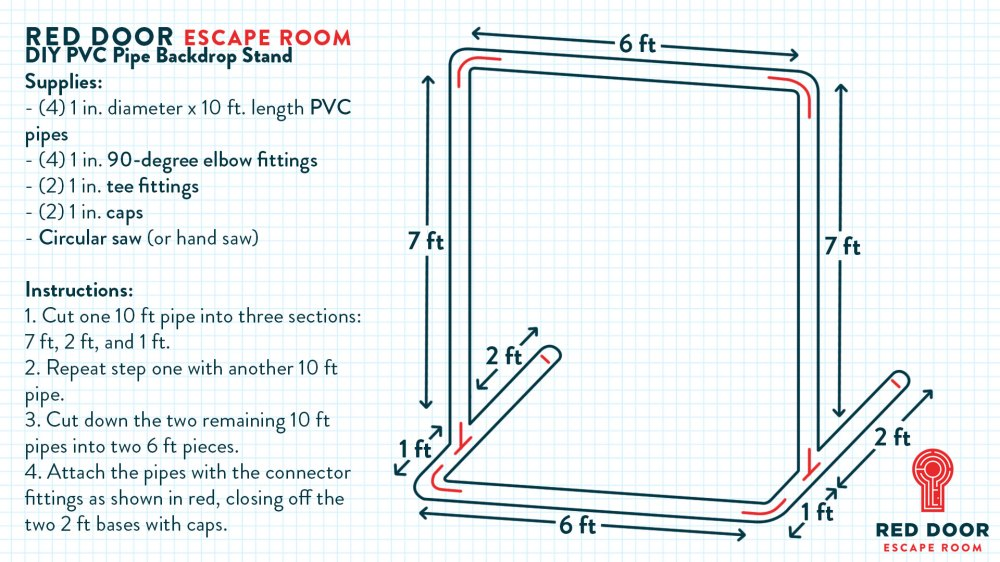 medium resolution of how to make a diy photo booth backdrop stand out of pvc pipe