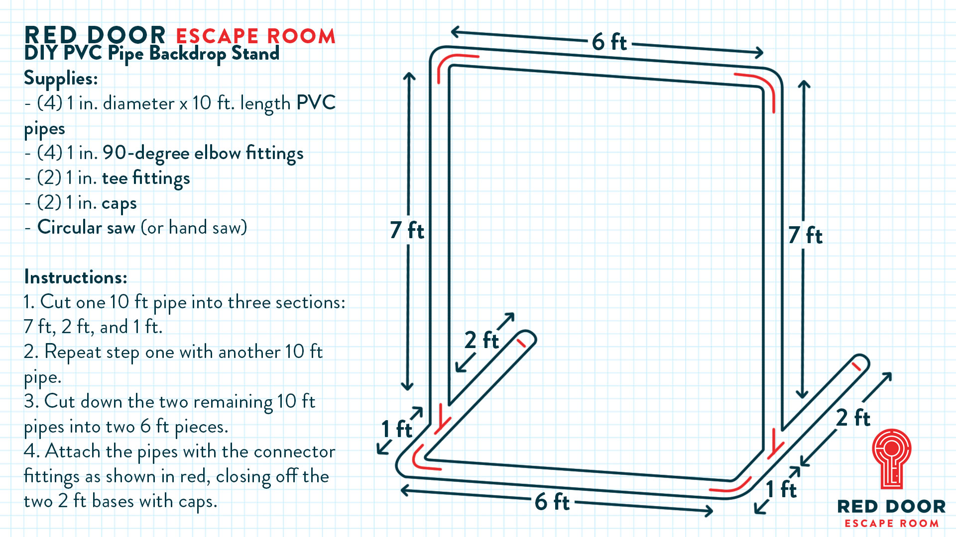 hight resolution of how to make a diy photo booth backdrop stand out of pvc pipe