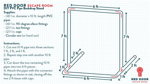 small resolution of how to make a diy photo booth backdrop stand out of pvc pipe
