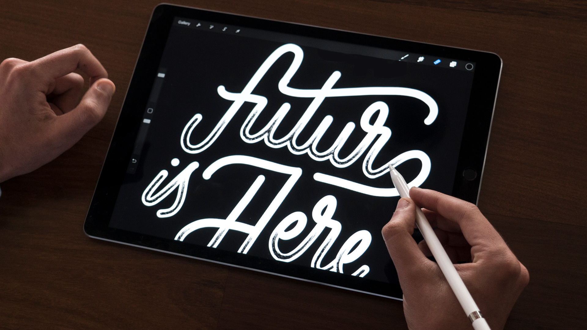 Hand Lettering Kit From The Futur