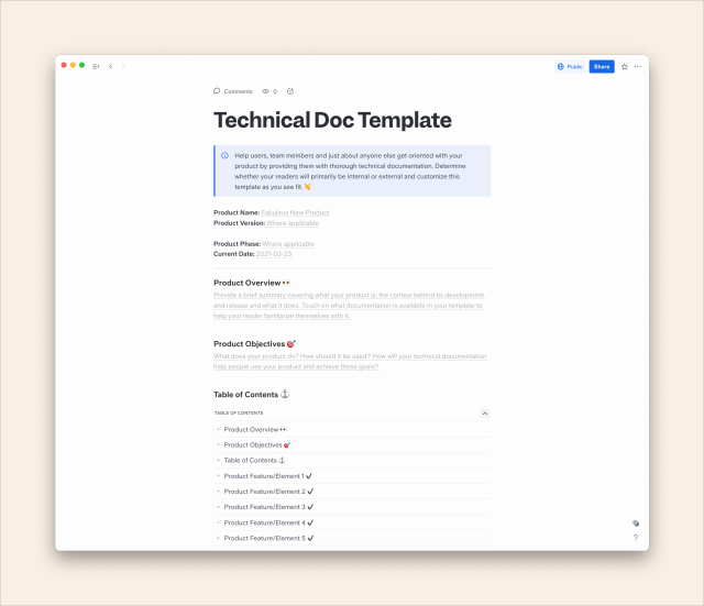 How to Create Technical Documentation (Guide + Free Template)