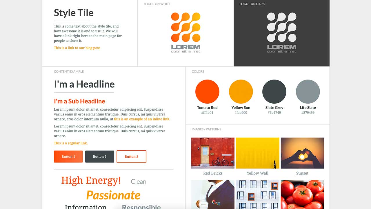 simple steps to the web design process