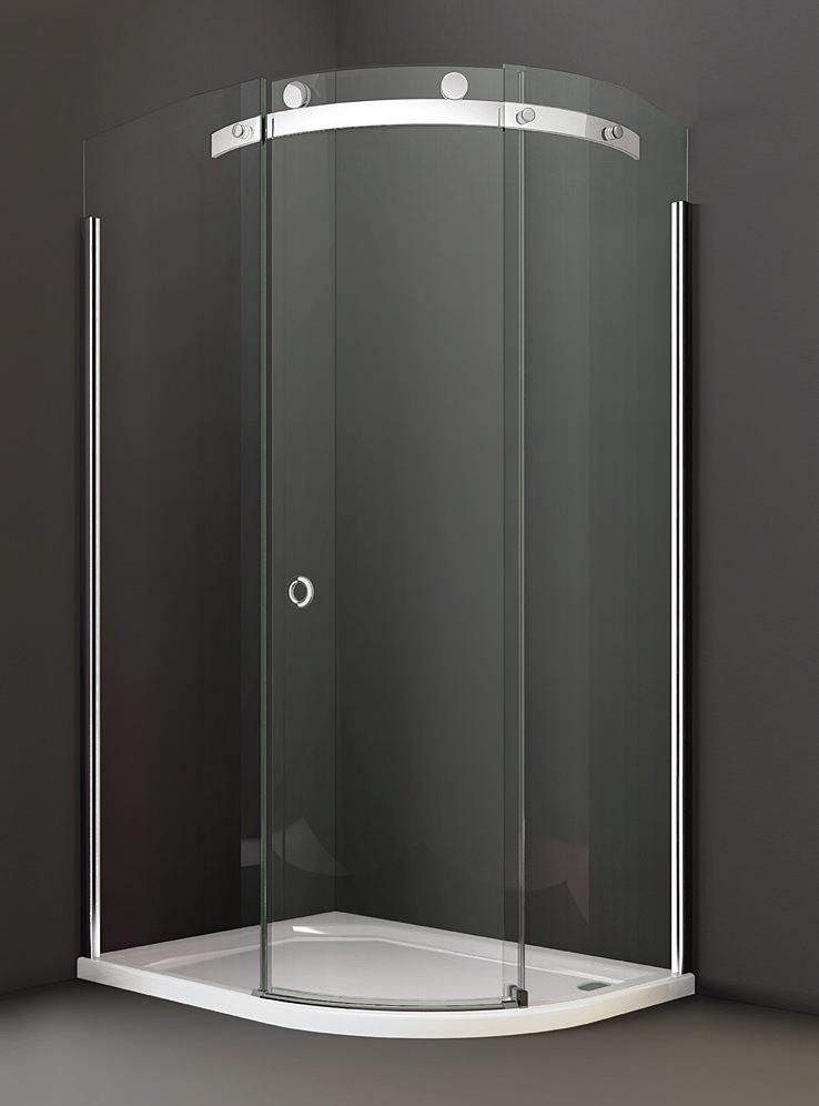 Merlyn 10 Series 1200 x 800mm 1 Door LH Offset Quadrant