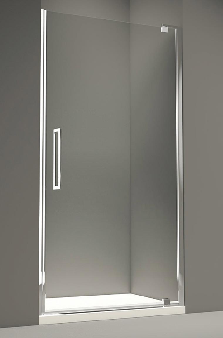 Merlyn 10 Series 800mm Clear Glass Pivot Shower Door M101211c