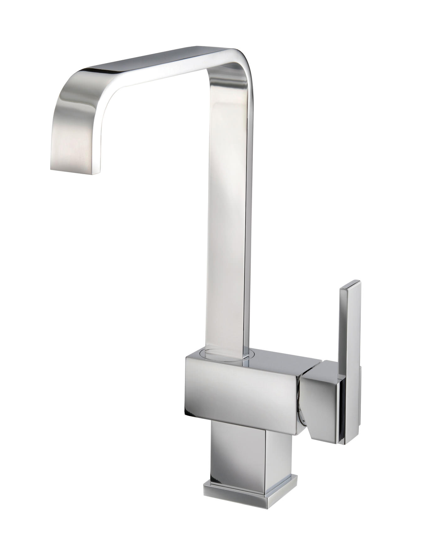 kitchen tap small white sinks mayfair mixer taps qs supplies flow monobloc with side lever