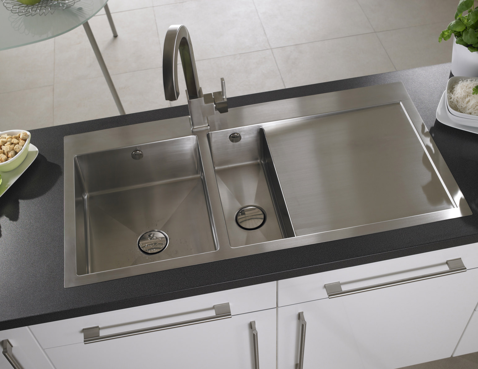 Astracast Vantage 15 Bowl Brushed Stainless Steel Inset