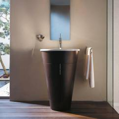 Large Kitchen Sinks Small Outdoor Duravit Starck Floorstanding 560mm Vanity Unit And 580mm ...