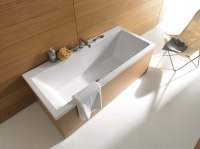 Image 3 of Duravit Vero Double Ended Rectangle Bathtub ...