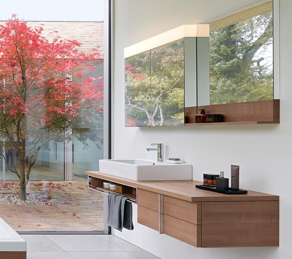 Exceptionnel Duravit Vero 600mm 2 Door Mirror Cabinet With Led Lighting
