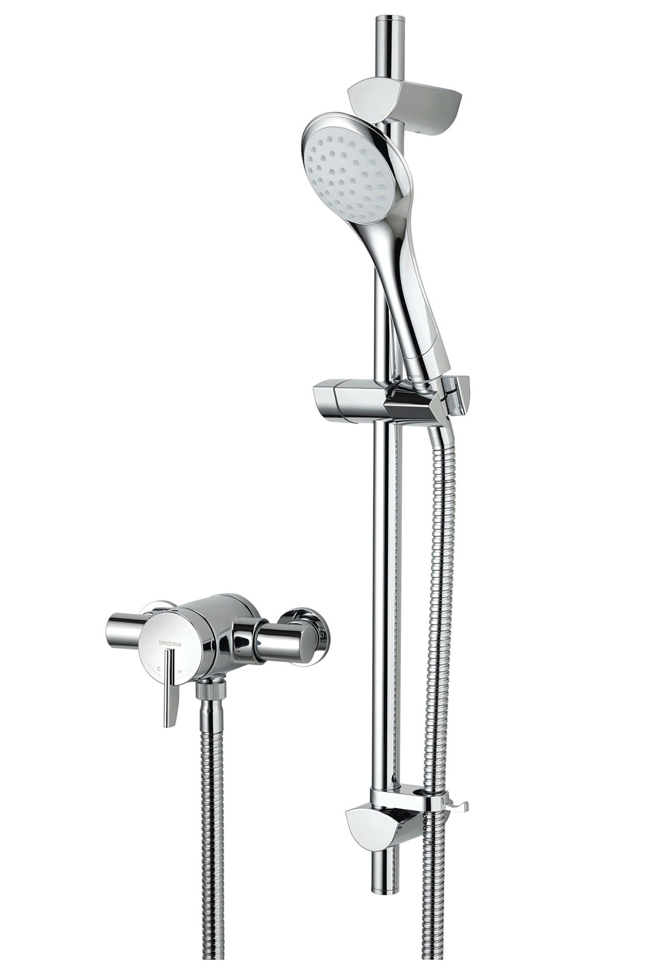 Bristan Sonqiue2 Thermostatic Shower Valve With Riser Kit