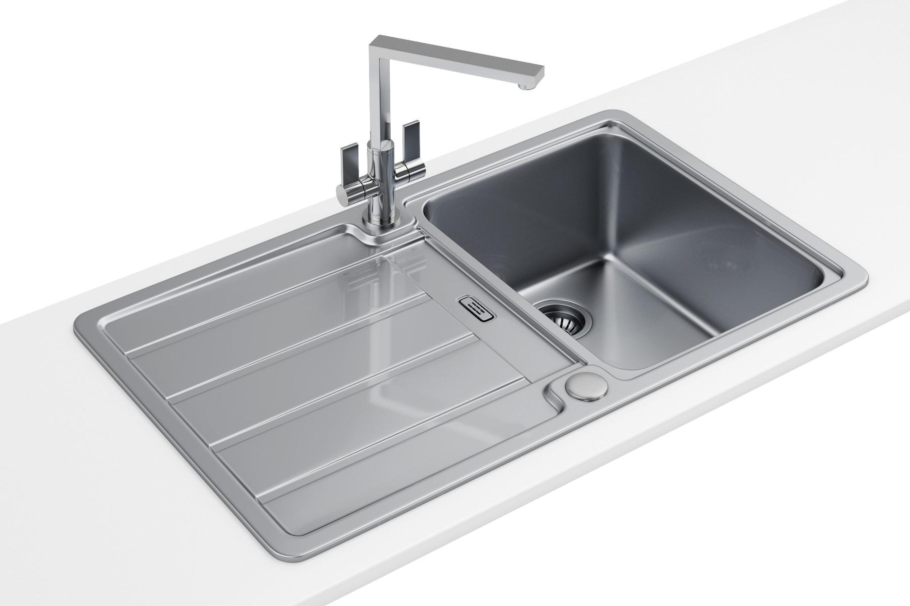 Franke Hydros HDX 614 Stainless Steel 10 Bowl Kitchen Inset Sink 1010314563 BOM