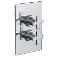 Abode Euphoria Concealed Thermostatic Shower Mixer Valve