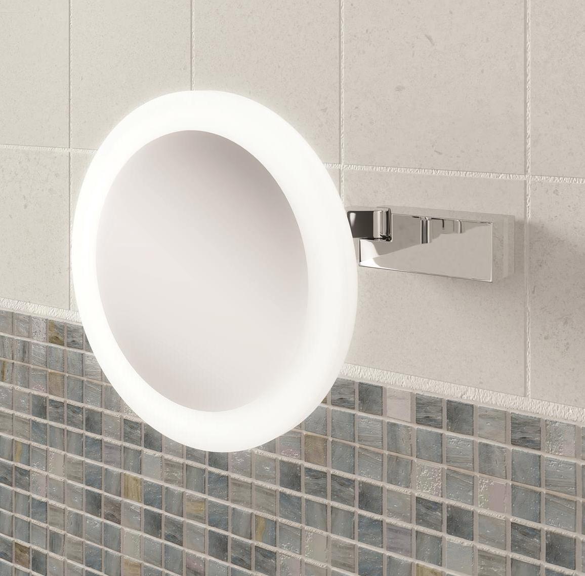 Retractable Mirror Bathroom