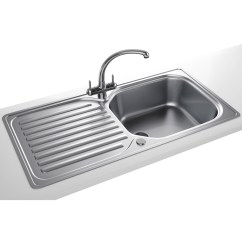 Franco Kitchen Sinks Amish Table Franke Elba Propack Eln 611 96 Stainless Steel Sink And