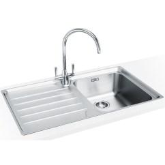Franke Kitchen Sinks Undermount Sink White Laser Lsx 611 1 Bowl Stainless Steel