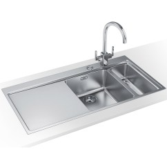 Franco Kitchen Sinks Outdoor With Fireplace Franke Mythos Slim Top Dp Mmx 261 Stainless Steel Sink And