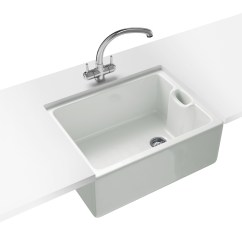 Franco Kitchen Sinks Aid Water Filter Franke Belfast Propack Bak 710 Ceramic White Sink