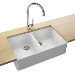 White Kitchen Sink Hose Repair Franke Belfast Vbk 720 Ceramic 2 Bowl