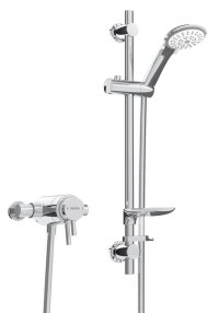 Bristan Prism Thermostatic Exposed Dual Control Shower Valve